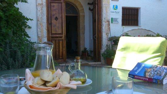 Casa Rural Hoyo Bautista: Cadre du petit déj