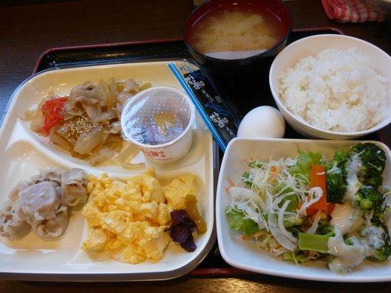 Super Hotel Towada: 無料としては充分な内容の朝食