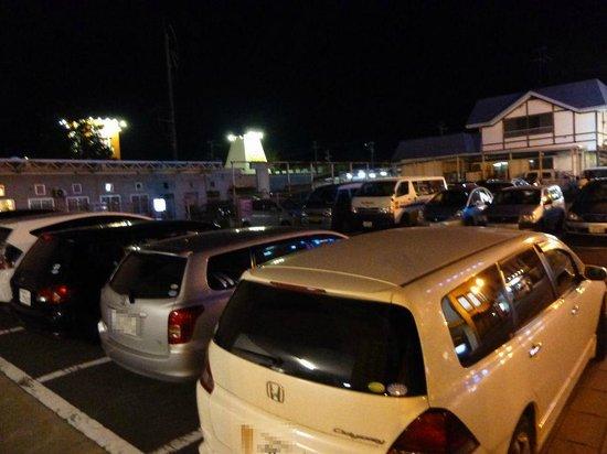Super Hotel Towada: 駐車場