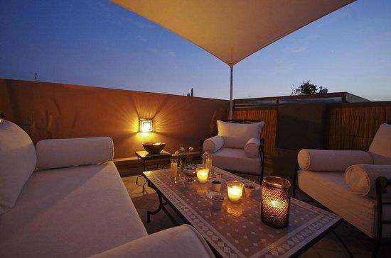 Riad Kasbah 117 Marrakech : Terrasse