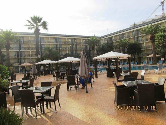 Royal Mirage Fes : vista giardino piscina