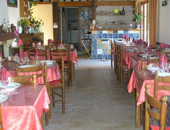 Chez le Forgeron : Salle de restaurant 50 couverts