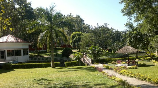 Dhanshree Resort: View from the entrance of the Resort