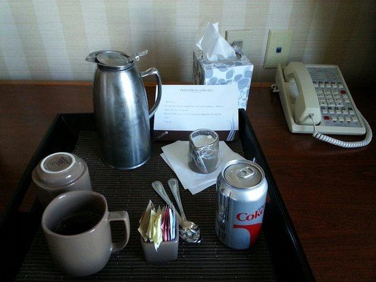 Omni Interlocken Hotel : Free soda and coffee