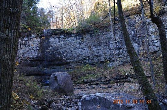 Cloudland Canyon State Park : cherokee falls