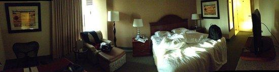 Hilton Garden Inn Cupertino: Room Pano