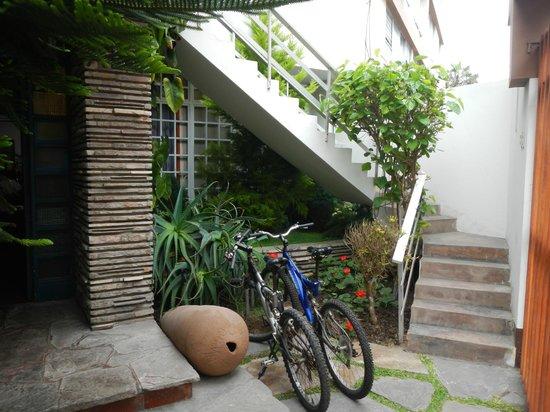 Casa Bella Miraflores: Entrada/Entrance