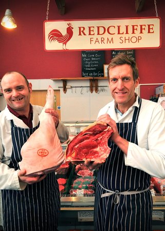Redcliffe Farm Shop Cafe: Our own butchery