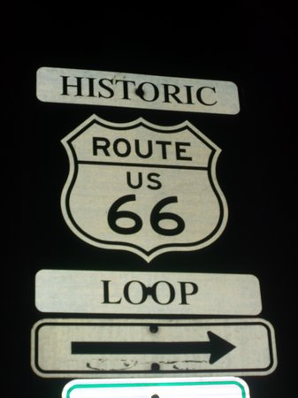 Williams Depot : route 66
