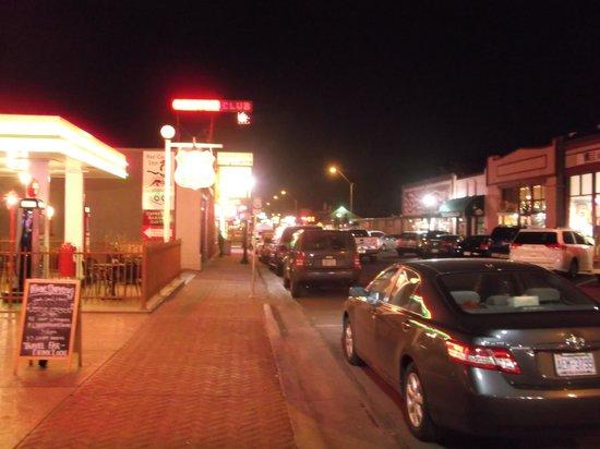 Williams Depot : center of town