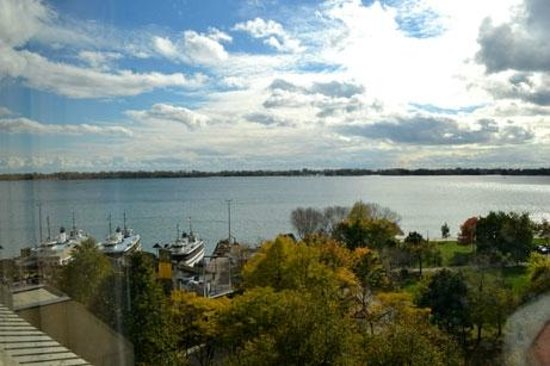 The Westin Harbour Castle: Looking out from room 740 towards the Toronto Islands