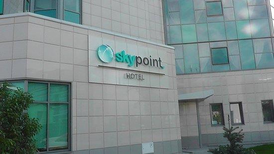 SkyPoint Sheremetyevo Hotel : Вывеска отеля