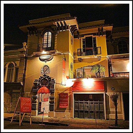 Otoya 1155 Restaurant & Lounge: Well lit  in Barrio Otoya( next to barrio Amon)