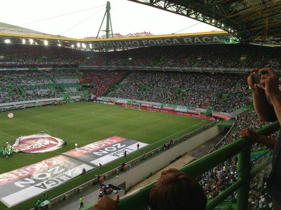 Estadio de Alvalade: Juego Sporting vs Benfica 31 Ago 2013