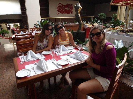 Castro's Park Hotel : Esta foto é na parte do restaurante!