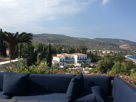 Anassa Hotel: The view from the Armonia Bar terrace