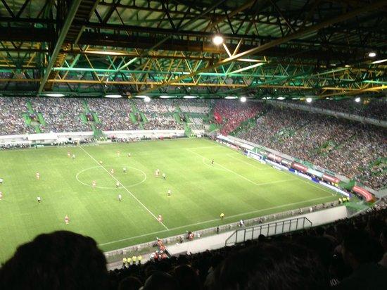 Estadio de Alvalade : Juego Sporting vs Benfica 31 Ago 2013