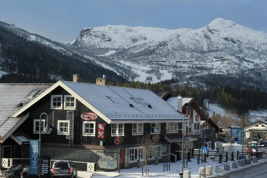 Hemsedal Cafe Skiers Lodge: Winter in Hemsedal