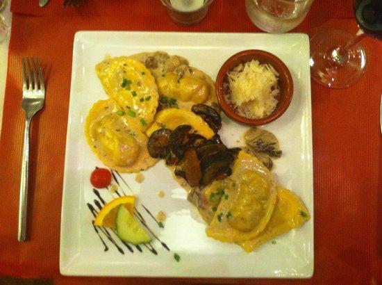 L'instant Délice : Raviolis aux cèpes