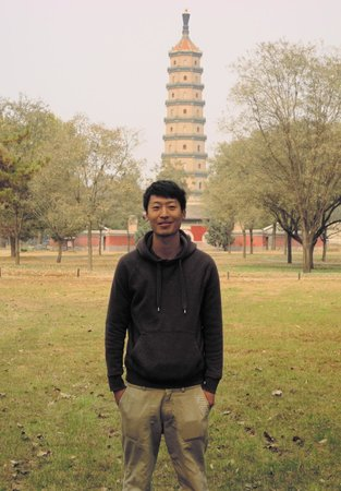 Beijing One-day Private Tour Guide Ryan Chao: Ryan Solo - but not at Great Wall.  LOL