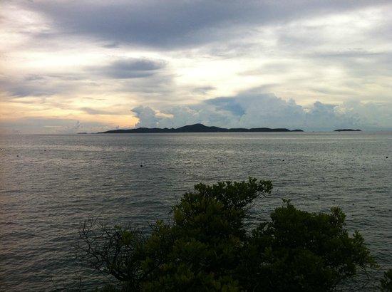 Asia Pattaya Hotel: Вид на море