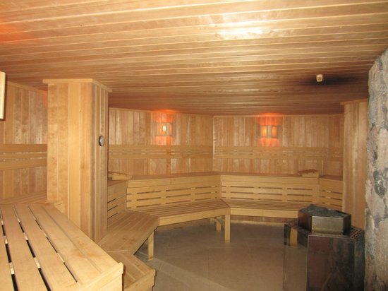 HD Beach Resort: Sauna