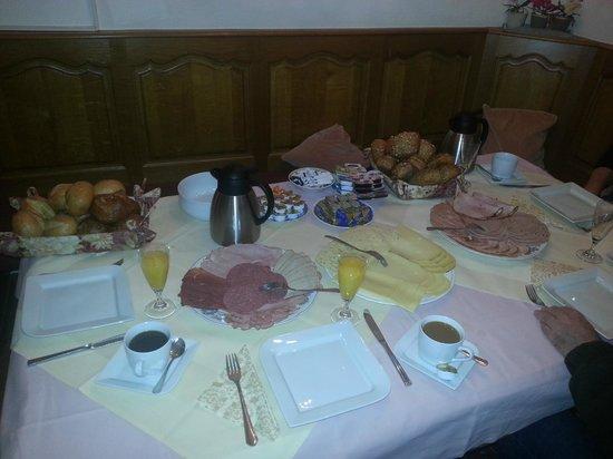 Burghotel Monschau: Het ontbijt