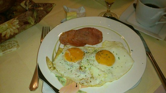 Burghotel Monschau: Ontbijt