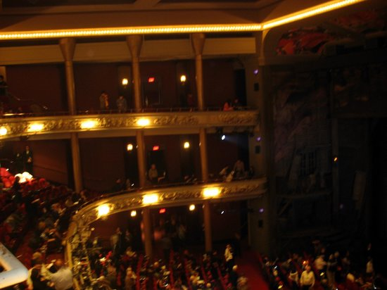Princess of Wales Theatre: View from the balcony
