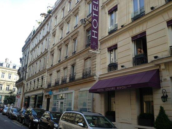 Hotel Louvre Rivoli: Отель