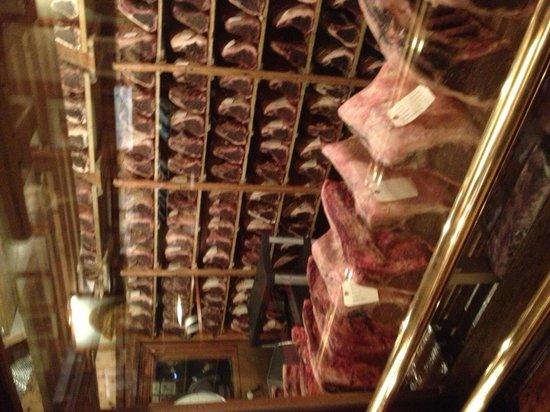 Gallagher's Steak House: Vetrina