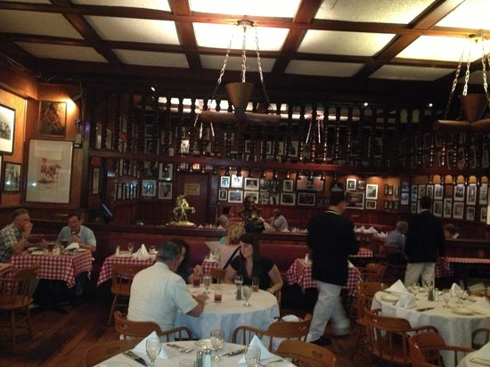 Gallagher's Steak House: Sala ristorante