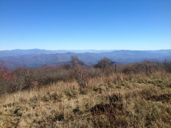 Snowbird Mountain Lodge : View from nearby Huckleberry Knob, an easy hike off the Skyway