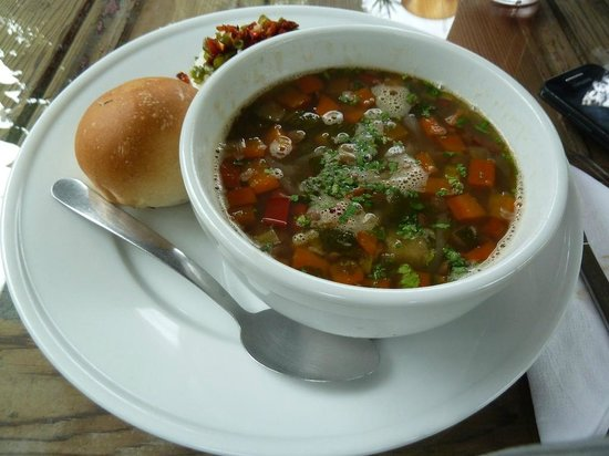 Sabe Rico: Lentil & vegetables soup