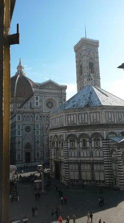 Hotel San Giovanni: Camera 3, vista sul Battistero, Duomo e Campanile