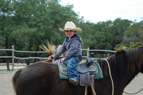 Rancho Cortez: A very happy horse rider
