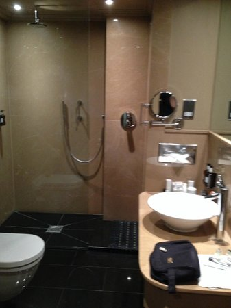 Radisson Blu Edwardian Bloomsbury Street: Bathroom (great shower!)