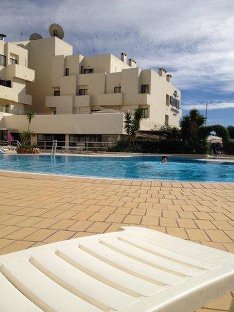 Santa Eulalia Hotel Apartamento & Spa : The pool area