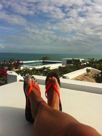 Maitei Hotel: Vista da piscina Superior