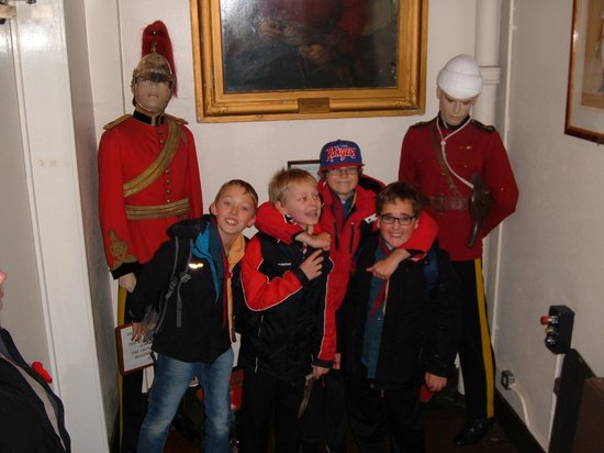 The Royal Dragoon Guards Museum: The way in