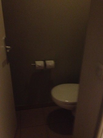 Adagio Aix-en-Provence Centre : Малюсенький туалет