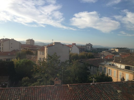 Adagio Aix-en-Provence Centre: Вид из окна