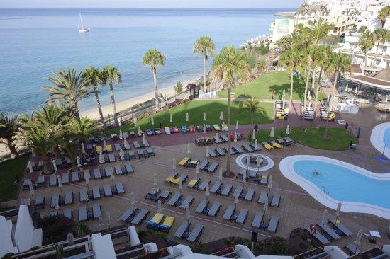 Sensimar Calypso Resort & Spa: Liegenbeleger am frühen Morgen