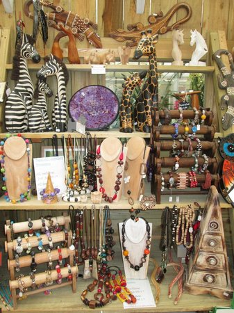 Papa Zulu's: some of the giftware