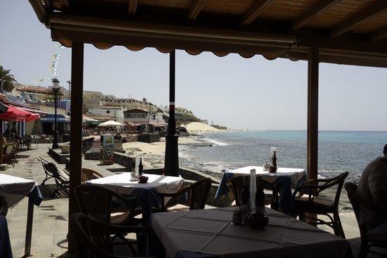 Sensimar Calypso Resort & Spa: Blick auf den Strand