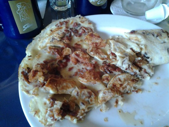 Grey Fox Inn & Resort: Apple bacon pancake