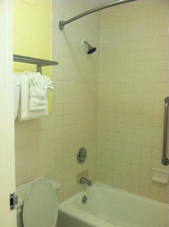 Clearwater Beach Hotel: Shower