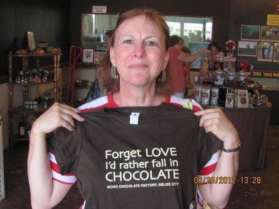 Belize Tourism Village: MOHO Chocolate store