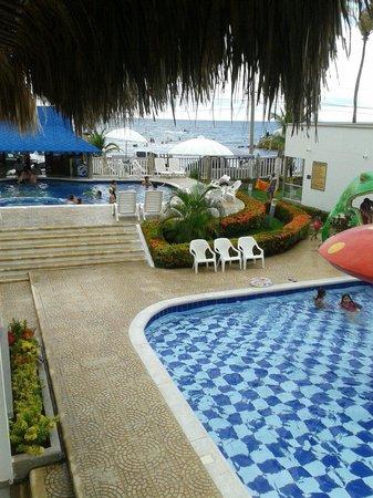 Hotel La Fragata: Area de piscina