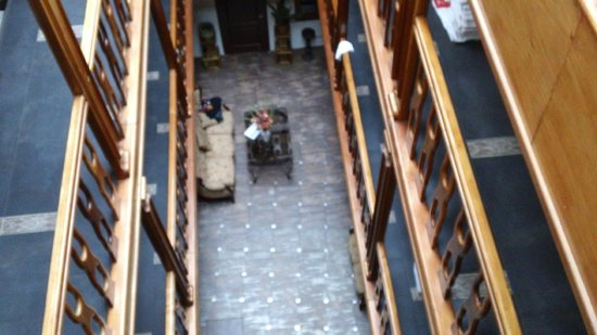 San Francisco Plaza Hotel: vista desde el piso 4